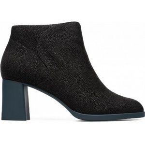 CAMPER Kara Flared Heel Black Ankle Boot NWOB